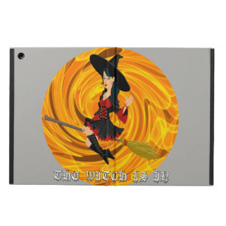 Halloween the witch is in Ipad case