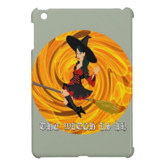 Halloween the witch is in iPad mini cover