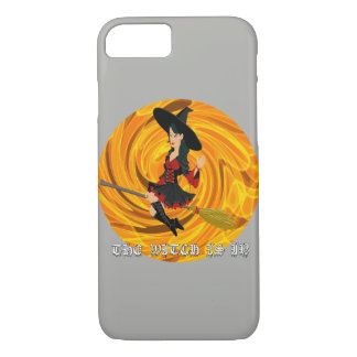 Halloween the witch is in Iphone 8/7 case