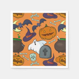 Halloween theme napkin