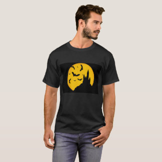 Halloween Theme'd Men's Basic Dark T-Shirt