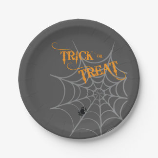 Halloween Themed Plates | Trick or Treat