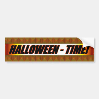 Halloween Time! Bumper Sticker