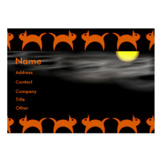 Halloween Time Pack Of Chubby Business Cards