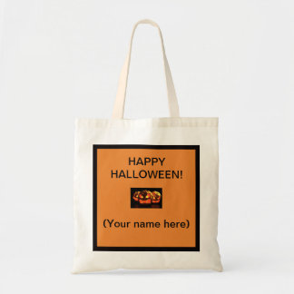 Halloween Tote Bag Personalize with any name
