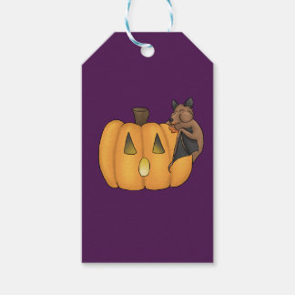 Halloween Treat Bat Gift Tag Pack Of Gift Tags