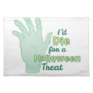 Halloween Treat Placemat