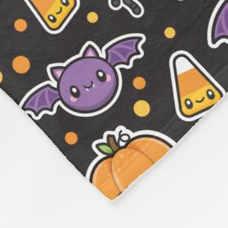 Halloween Treats fleece blanket