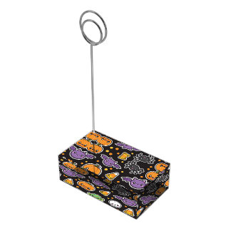 Halloween Treats table card holder