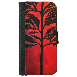 Halloween Tree iPhone 6 Wallet Case