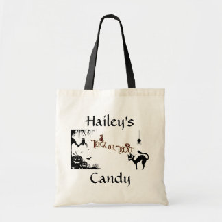 Halloween Trick or Treat Candy Bag