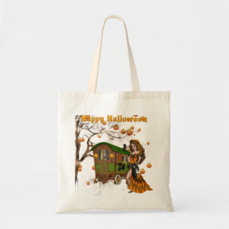 Halloween Trick or Treat Candy Bag with Gypsy
