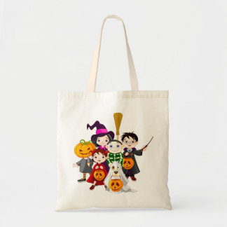 Halloween Trick or Treat Candy or Gift Tote Bag