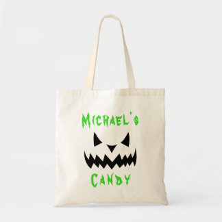 Halloween Trick or Treat Candy Tote Bag Custom