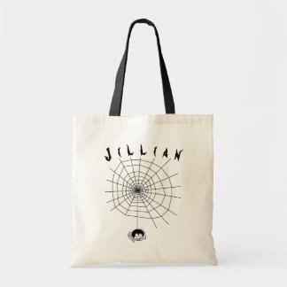 Halloween Trick or Treat Candy Tote Bag Spider Web