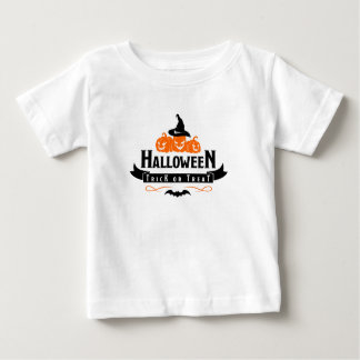 Halloween Trick Or Treat, Cute Baby Costume Shirt