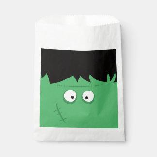 Halloween Trick or Treat Cute Frankenstein Monster Favour Bag