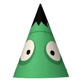 Halloween Trick or Treat Cute Frankenstein Monster Party Hat