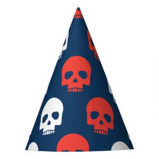 Halloween Trick or Treat Cute Skulls. Party Hat