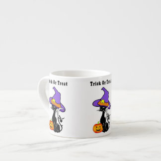 Halloween Trick or Treat Espresso Cup