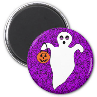 Halloween Trick-or-Treat Ghost Magnet