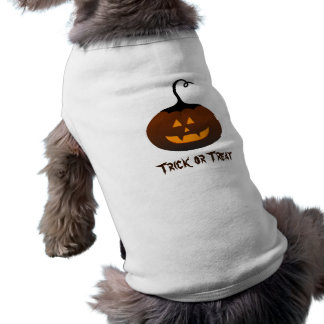 Halloween Trick or Treat Jack O Lantern Pumpkin Shirt