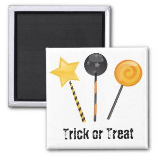 Halloween Trick or Treat Lollipops Magnet