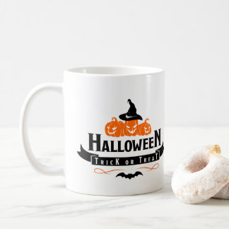 Halloween Trick Or Treat Quote Coffee Mug