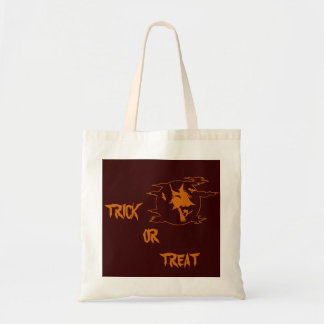 Halloween Trick or Treat Witch Tote Bag