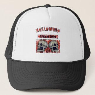 Halloween -Trick Or Treat Worn 2 Trucker Hat