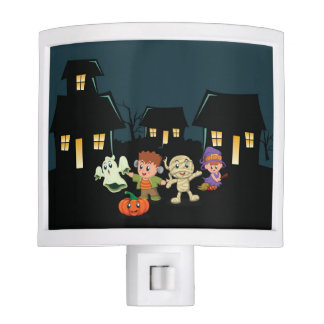 Halloween Trick or Treaters Night Light