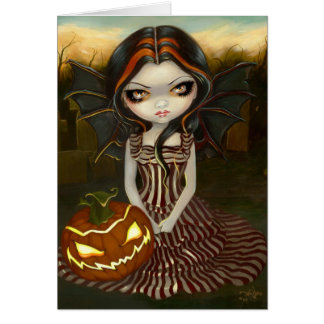 """Halloween Twilight"" Greeting Card"