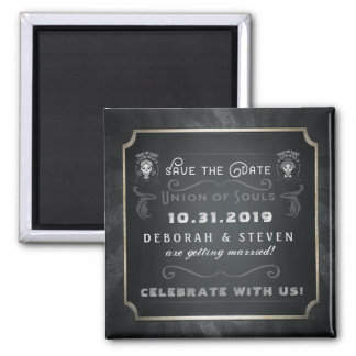 Halloween Union of Souls Save the Date Magnet