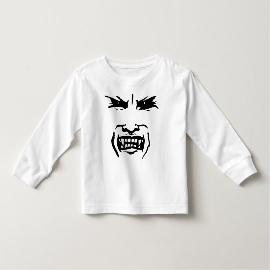 Halloween Vampire Face Toddler T-shirt