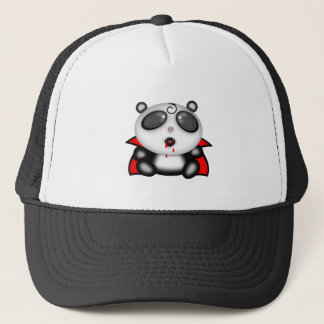 Halloween Vampire Panda Bear Trucker Hat