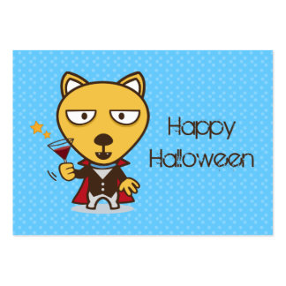 Halloween Vampire party Business Card