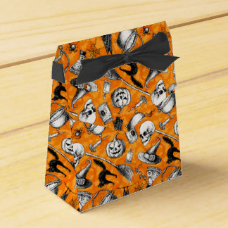 Halloween Vintage gift bag Favor Box