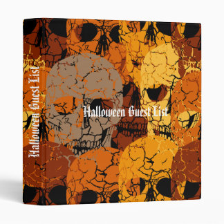 Halloween Vinyl Binder