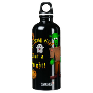 Halloween Water Bottle