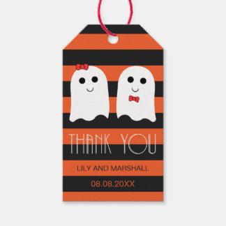 Halloween Wedding Giveaway Thank You Tag