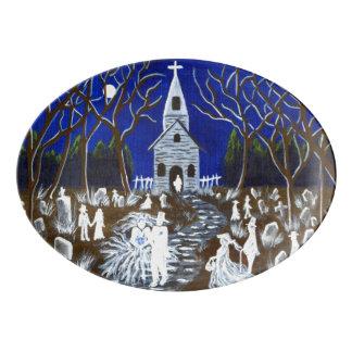 Halloween wedding platter