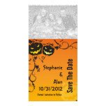 Halloween Wedding Save The Date Photo Cards