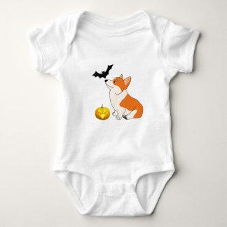 Halloween Welsh Corgi Baby Bodysuit