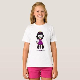 Halloween White Ghoul Girl T-Shirt