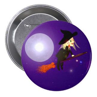 Halloween Wireless Witch Pins