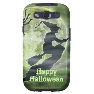 Halloween Witch and Spider Galaxy SIII Cover