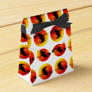 Halloween Witch and the Blood Moon Favor Box
