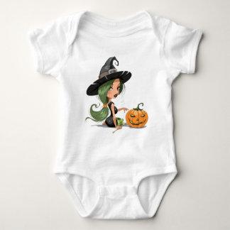 Halloween Witch Baby Bodysuit