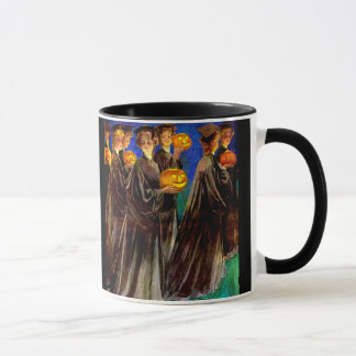 Halloween Witch College Graduates Mug