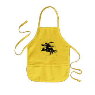 Halloween Witch Kids Apron